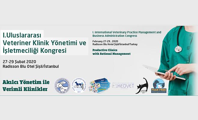1.Uluslararası Veteriner Klinik Yönetimi ve İşletmeciliği Kongresi